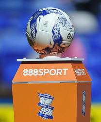 NEW BALL FOR CHAMPIONSHIP SEASON 2016-2017, Birmingham City v Cardiff City Sky Bet Championship  6th August 2016 <br /> Photo: Mike Capps