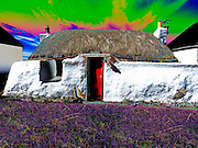 Thatched houes Isle of Tiree