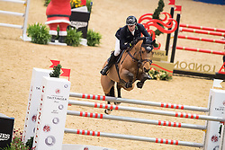 Maher Ben, GBR, Cassius Clay<br />  The Shelley Ashman International Ltd, EM Rogers (Transport) Ltd Father Christmas Stakes<br /> Olympia Horse Show -London 2016<br /> © Hippo Foto - Jon Stroud<br /> 17/12/16
