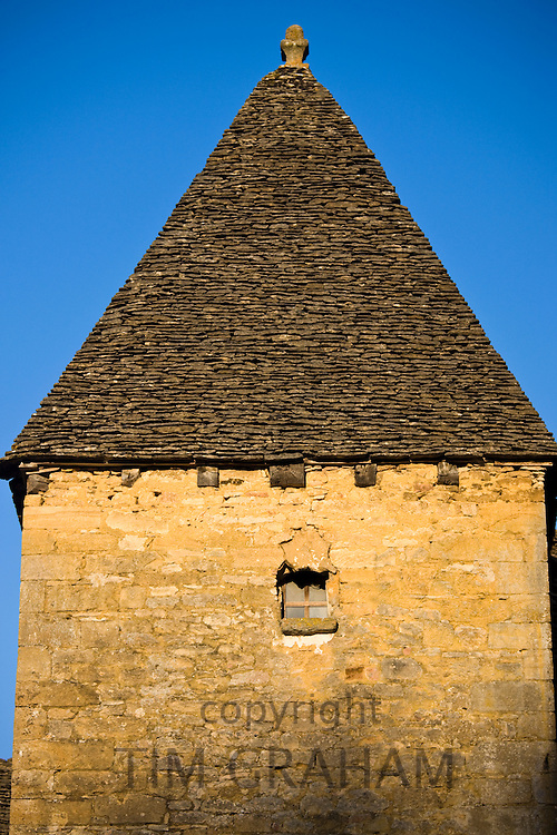 Traditional French architecture in St Genies in the Perigord region,  France