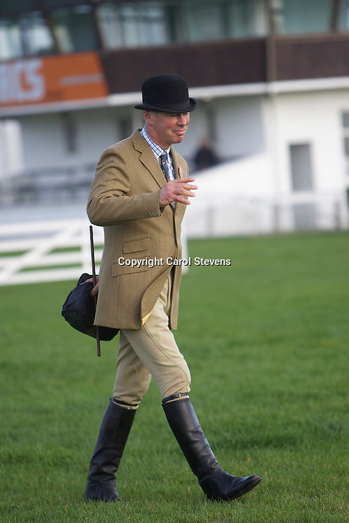 Mr Andrew Spalding of County Durham,  judge of the Ridden Heavy Class