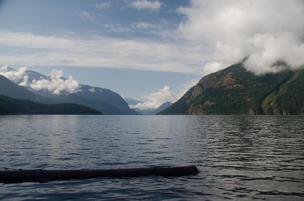 Ross Lake, Ross Lake National Recreation Area, North Cascades, Washington, August 2013