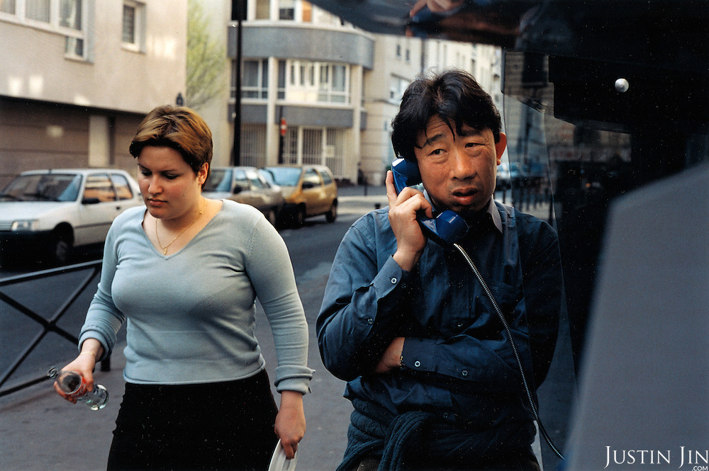 France, Paris, 05-2003..Illegal Chinese Mr Wang, 42, looks for work in Paris. He is part of a new wave of immigrants from China?s northeast, home to millions of former cradle-to-grave factory workers laid off by closures. ..