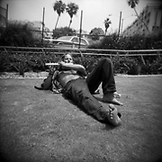 Santa Monica - Holga 120 - Ilford Film