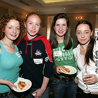 ***FREE OF CHARGE***<br />The Ombudsman for Children's Office (OCO)  ran an event in the Imperial Hotel in Cork to recruit a group of young advisors to help the Ombudsman with various aspects of her work. 30 young people  (12-17 years of age) from all over Munster attended the event where they learnt a bit more about the Ombudsman for Children's Office and then decided amongst themselves who from the group would go forward to be members of the  OCO's Youth Advisory Panel. <br />Pictured are Evelyn Robinson (Cork), Jane Moloney (Kilmallock, Co. Limerick), Aoife price (Waterford) & Nicola Foley ( Cork)<br /><br />Originally Ombudsmen for Children's Offices were set up to independently investigate complaints against public organisations. This was before the Convention on the Rights of the Child was agreed in 1989. Since then, as well as investigating complaints, the Ombudsmen for Children's Offices around the world have worked hard to promote the rights of children as listed in the UN Convention. <br />In Ireland as far back as 1996 many committed people who were interested in children's rights put pressure on the Government to have an Irish Ombudsman for Children. The Ombudsman for Children Act, which sets out the role and powers of this Office, was agreed by the Dail and the Seanad in 2002.<br />Pic. Emma Jervis/ Press 22