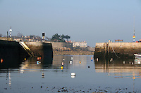 Wintertime at Bulloch Harbour in Dalkey Dublin Ireland