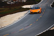 August 22-26, 2018. Monterey Car week. Lamborghini Aventador S.
