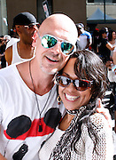 """Ben and DeeDee attend the Paradise Garage Party """"Larry Levan Day"""" event on King Street in New York City, New York on May 11, 2014."""