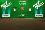 The main stage during the PDC Darts Players Championship at  at Butlins Minehead, Minehead, United Kingdom on 24 November 2017. Photo by Shane Healey.