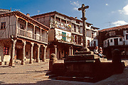 SPAIN, CASTILE  and amp; LEON La Alberca; rustic medieval village