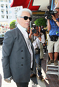 10.MAY.2011. LONDON<br /> <br /> KARL LAGERFELD AT THE 64TH CANNES FILM FESTIVAL 2011 IN CANNES, FRANCE<br /> <br /> BYLINE: EDBIMAGEARCHIVE.COM<br /> <br /> *THIS IMAGE IS STRICTLY FOR UK NEWSPAPERS AND MAGAZINES ONLY*<br /> *FOR WORLD WIDE SALES AND WEB USE PLEASE CONTACT EDBIMAGEARCHIVE - 0208 954 5968*