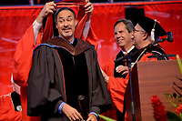 Architect Phil Freelon receives his honorary degree.