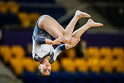 October 28, 2018 - Doha, Quatar - Sophie Marois of  Canada   during  Balancing Beam qualification at the Aspire Dome in Doha, Qatar, Artistic FIG Gymnastics World Championships on 28 of October 2018. (Credit Image: © Ulrik Pedersen/NurPhoto via ZUMA Press)