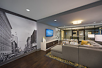 Architecural Interior photo of Mulberry at Park Apartments in Baltimore Maryland by Jeffrey Sauers of Commercial Photographics, Architectural Photo Artistry in Washington DC, Virginia to Florida and PA to New England