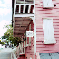 historic site balcony house Balcony House located downtown Nassau Bahamas. The oldest known house in the city of Nassau. It is now owned by The Bank of the Bahamas and has been converted into a museum.
