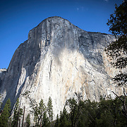 El Capitan, also known as El Cap, is a vertical rock formation in Yosemite National Park, located on the north side of Yosemite Valley, near its western end. The granite monolith is about 3,000 feet from base to summit along its tallest face, and is a popular objective for rock climbers, as seen inside Yosemite National Park on Sunday, September 22, 2019 in Yosemite, California. (Alex Menendez via AP)