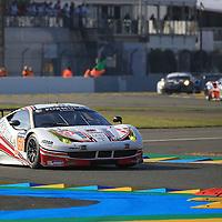 #60, Ferrari 458 Italia, Formula Racing, driven by, Jonny Laursen, Mikel Mac, Christina Nielsen, 24 Heures Du Mans , 18/06/2016,