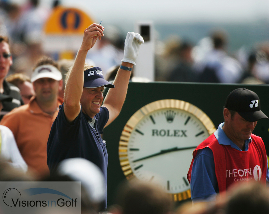 Colin Montgomerie<br />050717 The Open Championship 2005, St. Andrews<br />Photo Credit:  Mark Newcombe / visionsingolf.com