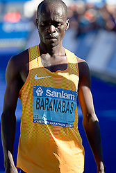 Baranabas Kiptum during the 2016 Sanlam Cape Town marathon held in Cape Town, South Africa on the 18th September  2016<br /> <br /> Photo by: John Tee / RealTime Images