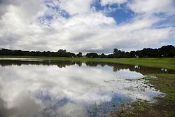 Lake Lagunita, filled with water, Stanford University, Stanford California, United States of America.
