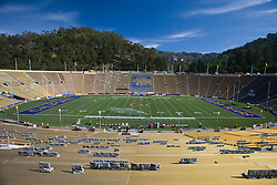 October 24, 2009; Berkeley, CA, USA;  Memorial Stadium, built in 1923, is the site of the Washington State Cougars versus the California  Golden Bears game.
