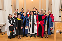 Group Photo after the Ceremonies of Evensong for the Installation of The Very Reverend Andrew B. McGowan.