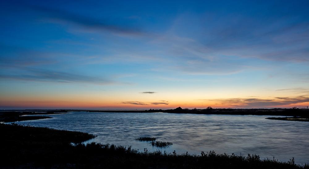 Port Aransas Nature Preserve Sunset 02 Texas