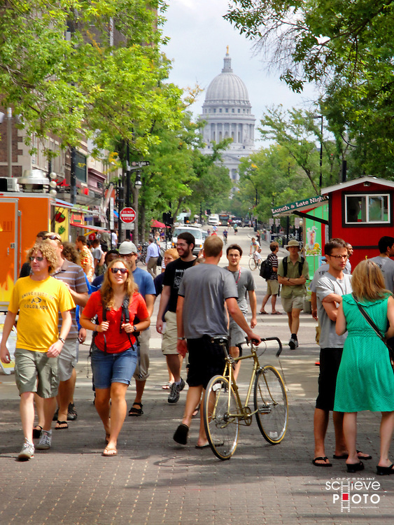 University of Wisconsin-Madison students have returned to the city.