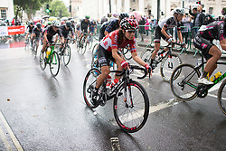 Elise Delzenne (FRA) of Lotto Soudal Cycling Team accelerates out of a corner during the Prudential Ride London Classique - a 66 km road race, starting and finishing in London on July 29, 2017, in London, United Kingdom. (Photo by Balint Hamvas/Velofocus.com)
