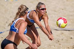 23-08-2019 NED; DELA NK Beach Volleyball Qualification, Scheveningen<br /> First day NK Beachvolleyball / Lynn van Mill