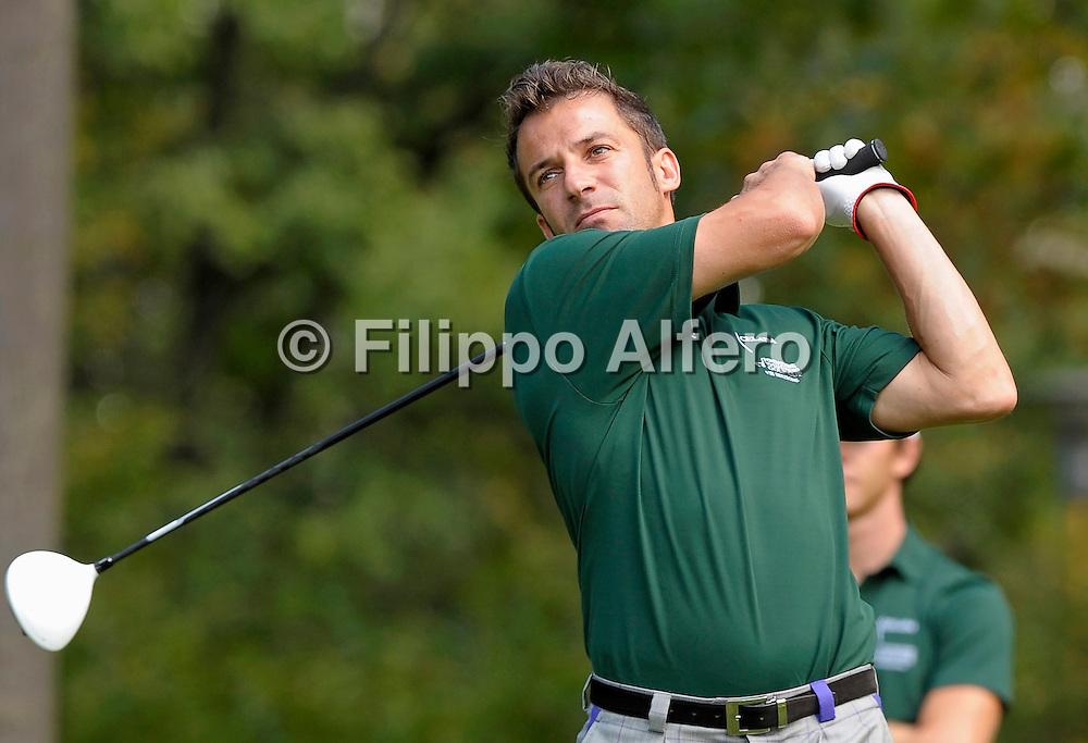 &copy; Filippo Alfero<br /> Fondazione Vialli e Mauro Golf Cup VIII edizione<br /> Torino, 05/09/2011<br /> sport golf<br /> Nella foto: Alessandro Del Piero