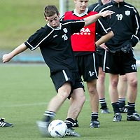 St Johnstone Training...26.09.03<br />Peter MacDonald back playing for St Johnstone after injury problems and the death of his father.<br />see story by Gordon Bannerman Tel: 01738 553978<br />Picture by Graeme Hart.<br />Copyright Perthshire Picture Agency<br />Tel: 01738 623350  Mobile: 07990 594431