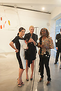PHUONG BANH; SUSAN ALMRUD; DONNA CROSS, Pilar Ordovas hosts a Summer Party in celebration of Calder in India, Ordovas, 25 Savile Row, London 20 June 2012