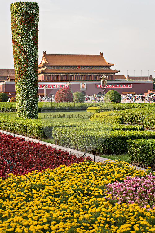 Tiananmen gate or the Gate of Heavenly Peace in Beijing, China