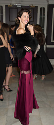 MARGO STILLEY at the Tatler Little Black Book Party at Home House Member's Club, Portman Square, London supported by CARAT on 11th November 2015.