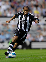 """Photo: Jed Wee/Sportsbeat Images.<br /> Newcastle United v Juventus. Pre Season Friendly. 29/07/2007.<br /> <br /> Newcastle's Kieron Dyer, described by manager Sam Allardyce earlier in the week as an """"asset"""", makes a second half appearance as a substitute."""