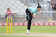 Marizanne Kapp of the Surrey Stars during the Women's Cricket Super League match between Lancashire Thunder and Surrey Stars at the Emirates, Old Trafford, Manchester, United Kingdom on 7 August 2018.