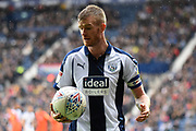 West Bromwich Albion midfielder Chris Brunt (11) during the EFL Sky Bet Championship match between West Bromwich Albion and Millwall at The Hawthorns, West Bromwich, England on 22 September 2018.