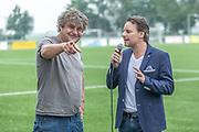 DRC Durgerdam. All Stars voetbaltoernooi. Op de foto: Frank Lammers en Cas Jansen