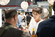 WOSA in Deutschland. Augenblick bei der Weinmesse Prowein in Düsseldorf.