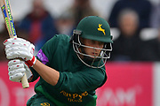 Billy Root during the Royal London 1 Day Cup match between Worcestershire County Cricket Club and Nottinghamshire County Cricket Club at New Road, Worcester, United Kingdom on 27 April 2017. Photo by Simon Trafford.