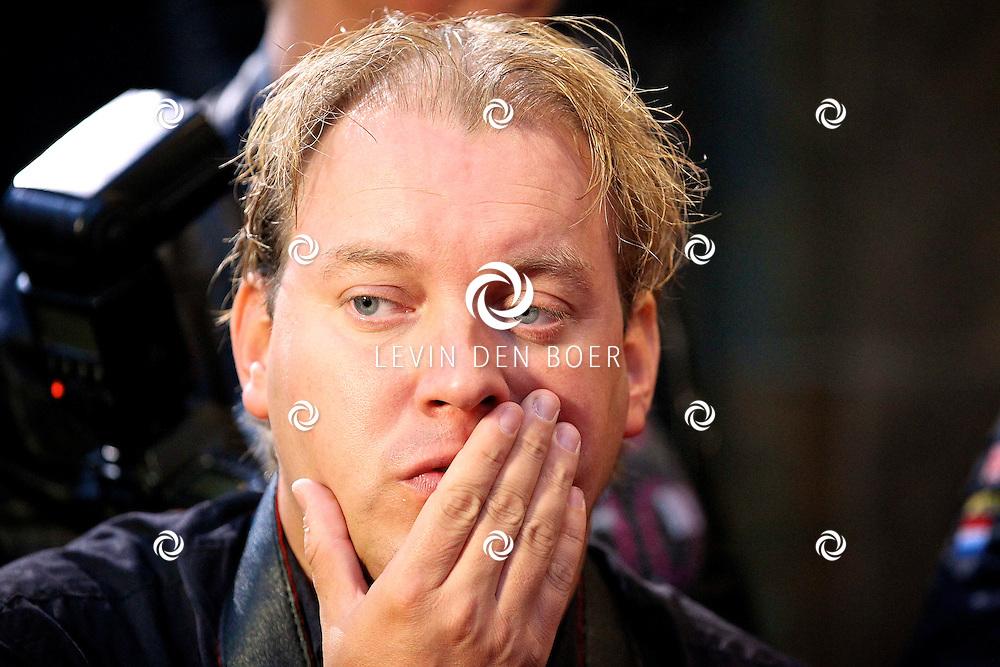 AMSTERDAM - Bij pathe theater Tuschinski is de filmpremiere van Johnny English.  Met op de foto Dennis van Tellingen. FOTO LEVIN DEN BOER - PERSFOTO.NU