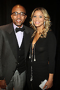 Kevin Liles and Guest at Ne-Yo's 30th Birthday Party held at Cipariani's on 42 Street on October 17, 2009 in New York City
