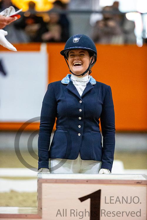 Jennifer Sekreve<br /> KNHS Indoorkampioenschappen 2020<br /> © DigiShots