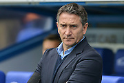 Nottingham Forest manager Philippe Montanier during the EFL Sky Bet Championship match between Reading and Nottingham Forest at the Madejski Stadium, Reading, England on 29 October 2016. Photo by Mark Davies.