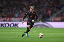 May 3, 2018 - Madrid, Spain - NACHO MONREAL of Arsenal FC during the UEFA Europa League, semi final, 2nd leg football match between Atletico de Madrid and Arsenal FC on May 3, 2018 at Metropolitano stadium in Madrid, Spain (Credit Image: © Manuel Blondeau via ZUMA Wire)