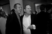 MARIO TESTINO; HARVEY WEINSTEIN, Afterparty for Burberry  Spring/Summer 2010 Show. Horseferry House. Horseferry Rd. London sW1.  London Fashion Week.  22 September 2009.