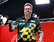 Simon Whitlock during the 2018 Players Championship Finals at Butlins Minehead, Minehead, United Kingdom on 23 November 2018.