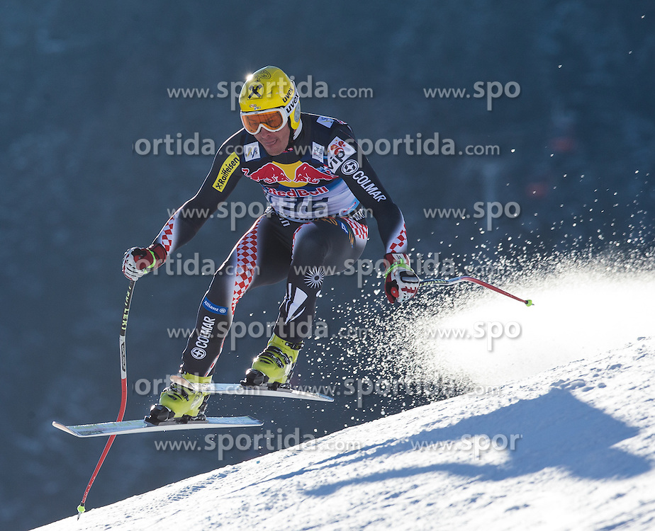 23.01.2013, Streif, Kitzbuehel, AUT, FIS Weltcup Ski Alpin, Abfahrt, Herren, 2. Training, im Bild Ivica Kostelic (CRO) // Ivica Kostelic of Croatia in action during 2nd practice of mens Downhill of the FIS Ski Alpine World Cup at the Streif course, Kitzbuehel, Austria on 2013/01/23. EXPA Pictures © 2013, PhotoCredit: EXPA/ Johann Groder