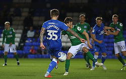 Jason Cummings of Peterborough United scores his sides second goal of the game - Mandatory by-line: Joe Dent/JMP - 09/10/2018 - FOOTBALL - ABAX Stadium - Peterborough, England - Peterborough United v Brighton and Hove Albion U21 - Checkatrade Trophy